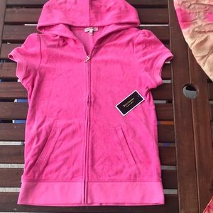 Juicy Couture Pink Puff Sleeve Highlight Hoodie